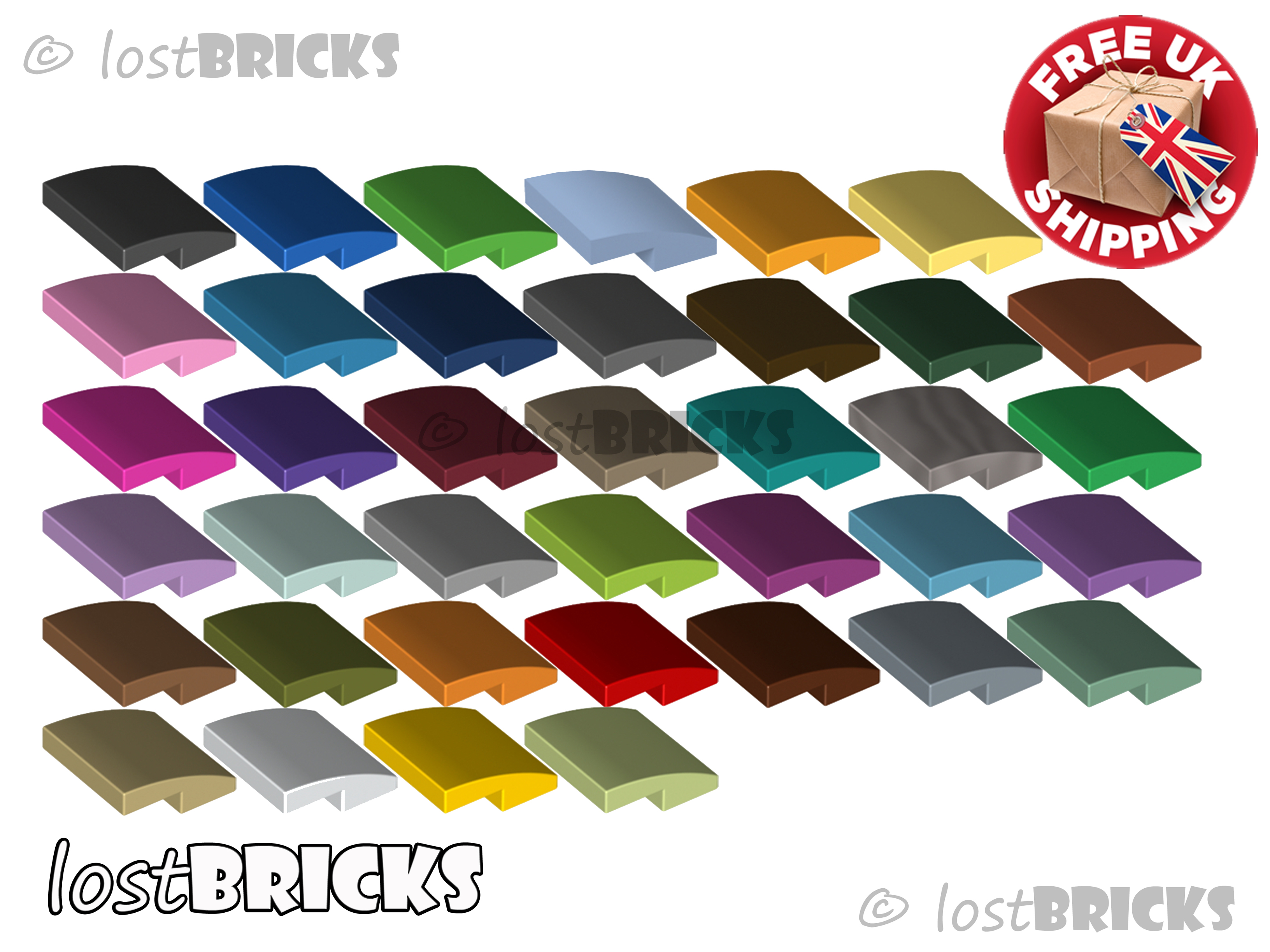 NEW LEGO Part Number 15068 in a choice of 12 colours