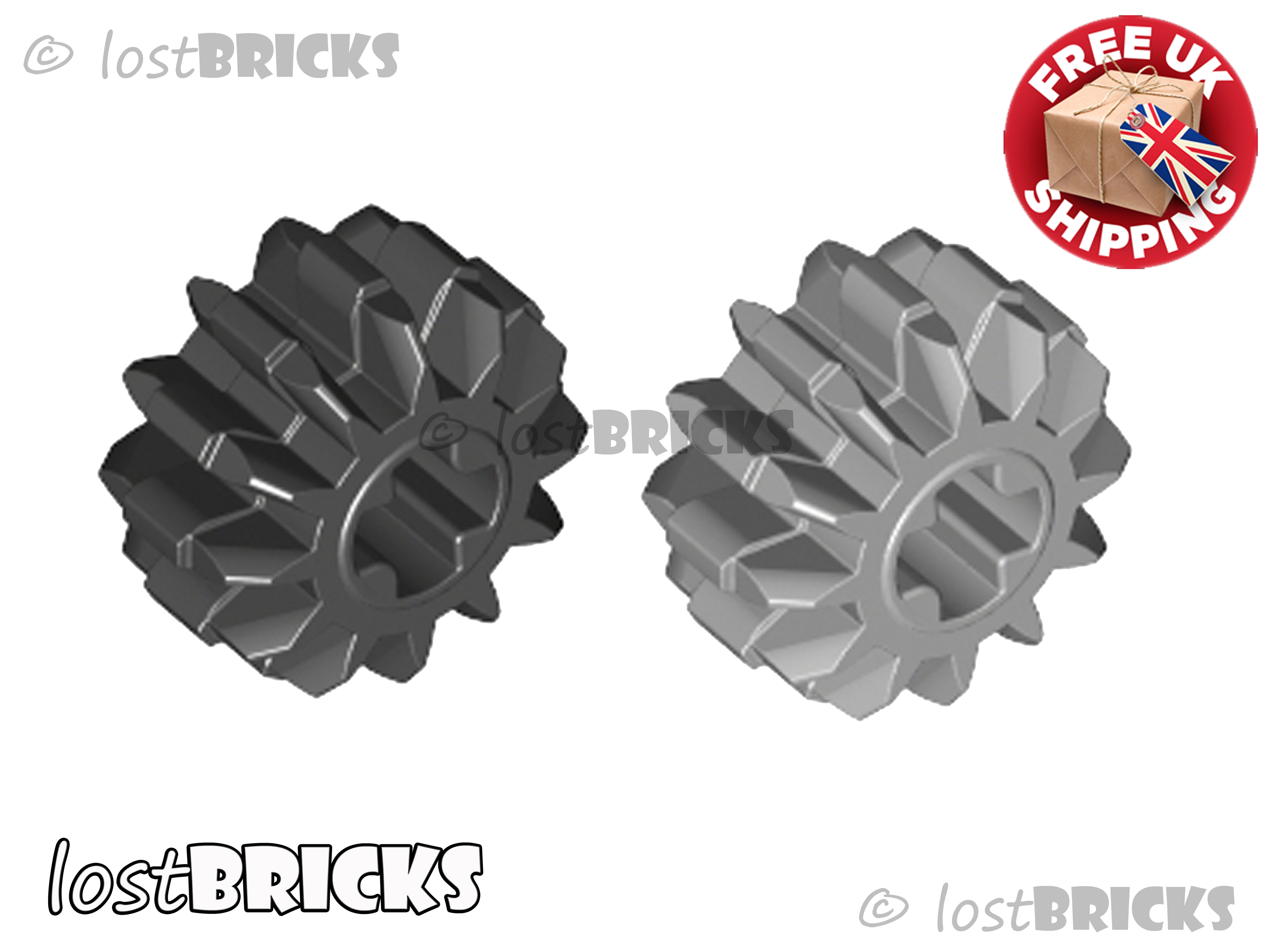 LEGO 32270 @@ Technic Gear 12 Tooth Double Bevel