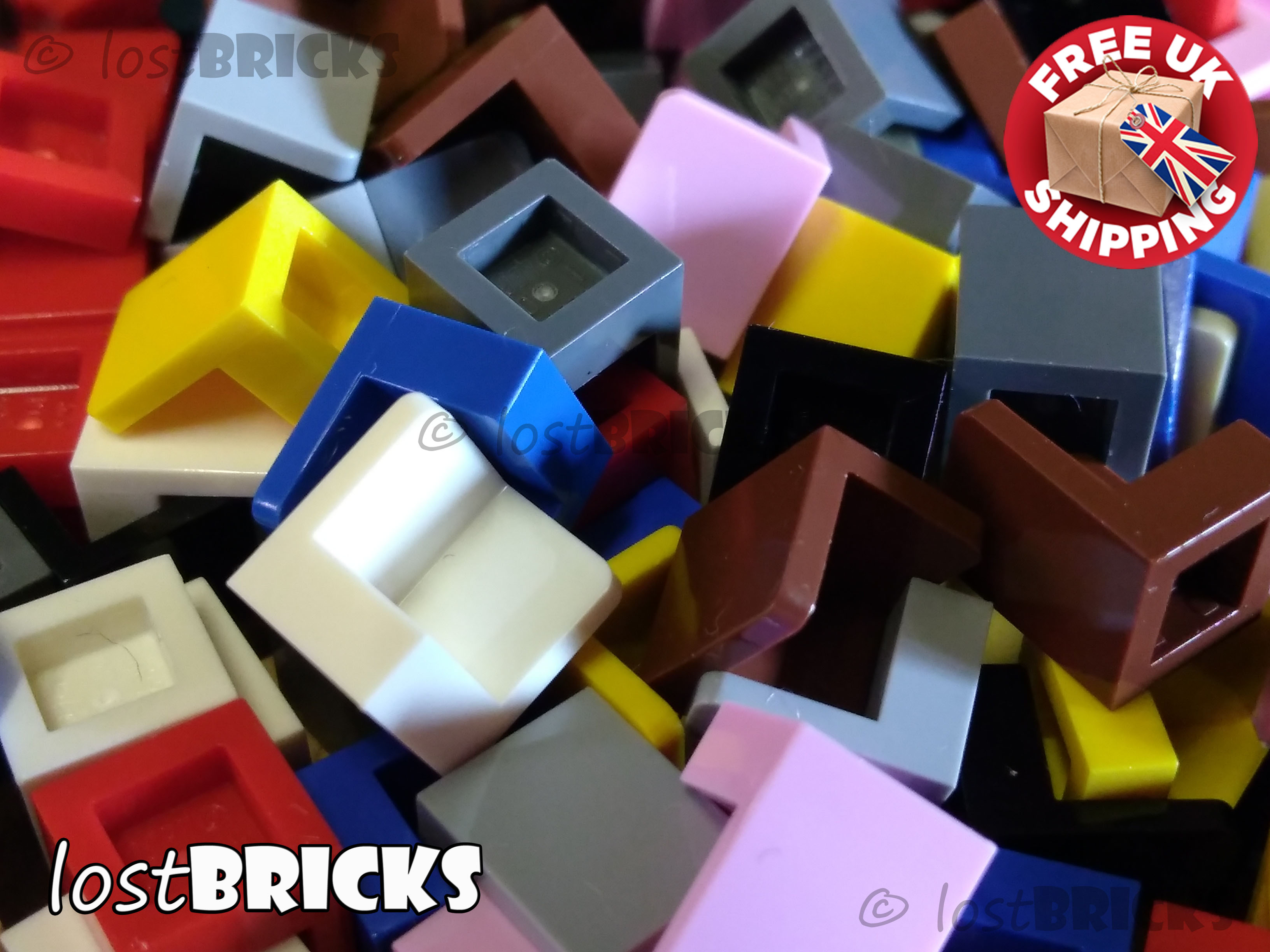 - Select Colour Pack of 1 LEGO 3027 6x16 Plate FREE P/&P!